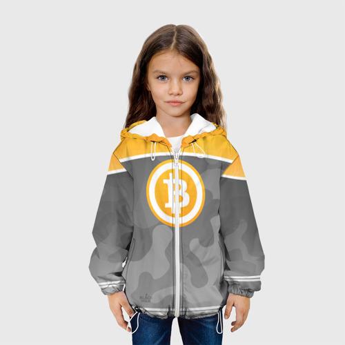 Детская куртка 3D Black Milk Bitcoin - Биткоин Фото 01