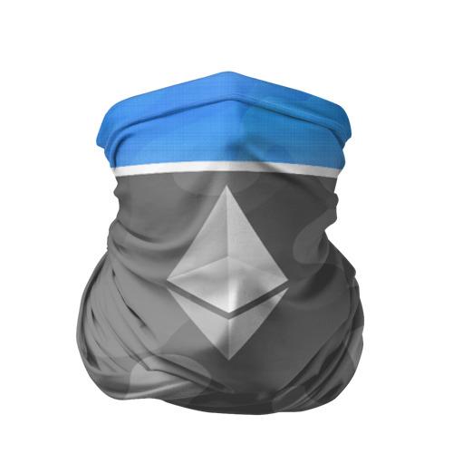 Бандана-труба 3D  Фото 01, Black Milk Ethereum - Эфириум