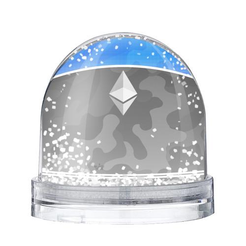 Водяной шар со снегом Black Milk Ethereum - Эфириум