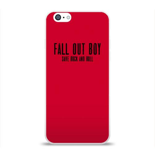 Чехол для Apple iPhone 6 силиконовый глянцевый  Фото 01, Save ROCK