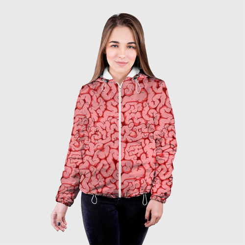 Женская куртка 3D  Фото 03, Мозг