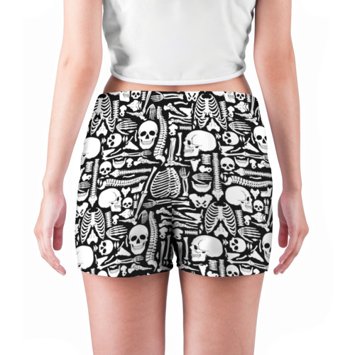 Женские шорты 3D  Фото 04, Кости