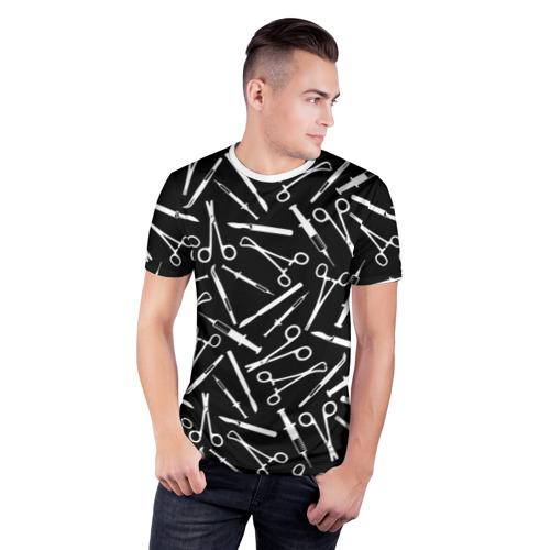 Мужская футболка 3D спортивная  Фото 03, Шприцы
