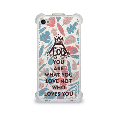 Чехол для Apple iPhone 4/4S flip  Фото 01, Love