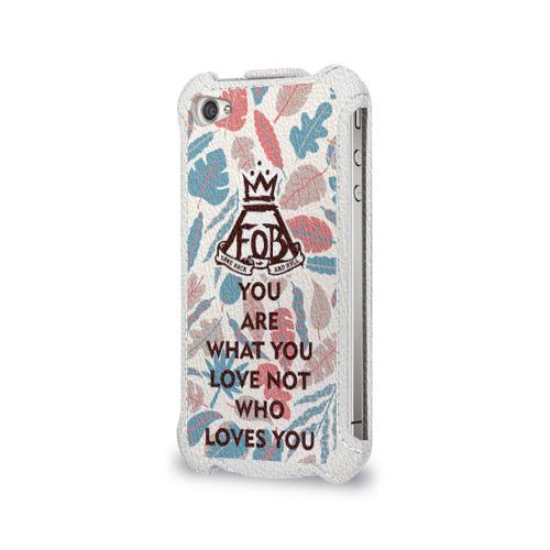 Чехол для Apple iPhone 4/4S flip  Фото 03, Love