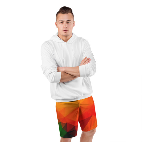Мужские шорты 3D спортивные  Фото 05, Abstraction