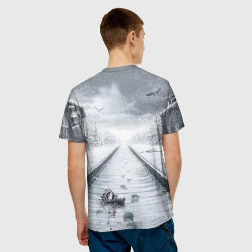 Мужская футболка 3D  Фото 02, METRO: Exodus
