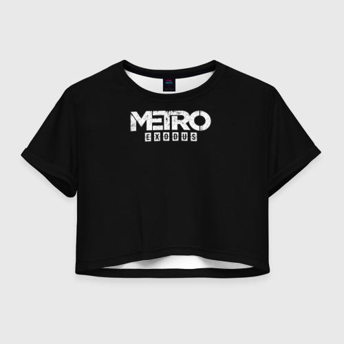 Женская футболка Cropp-top METRO: Exodus Фото 01
