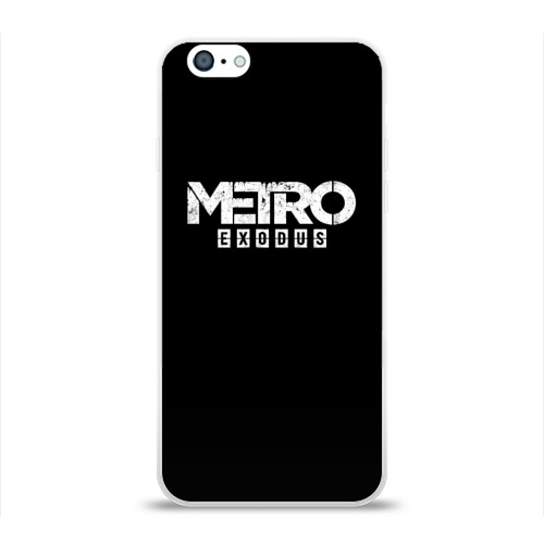 Чехол для Apple iPhone 6 силиконовый глянцевый METRO: Exodus Фото 01
