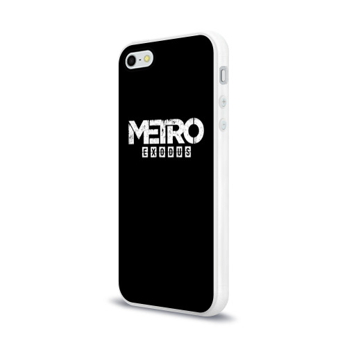 Чехол для Apple iPhone 5/5S силиконовый глянцевый METRO: Exodus Фото 01