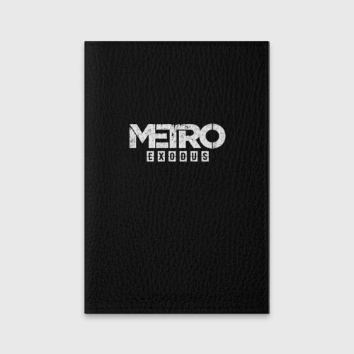 Обложка для паспорта матовая кожа METRO: Exodus Фото 01