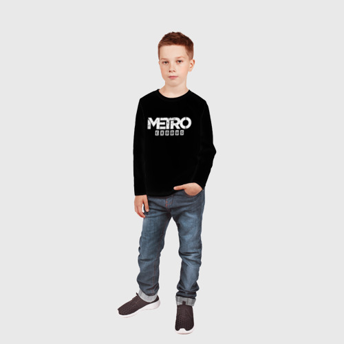 Детский лонгслив 3D METRO: Exodus Фото 01