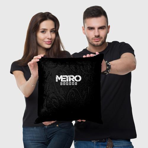 Подушка 3D METRO: Exodus Фото 01