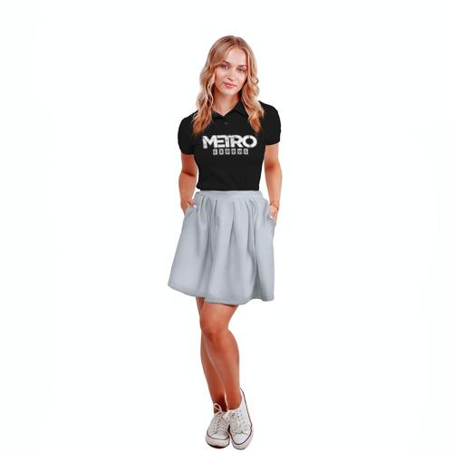 Женская рубашка поло 3D METRO: Exodus Фото 01