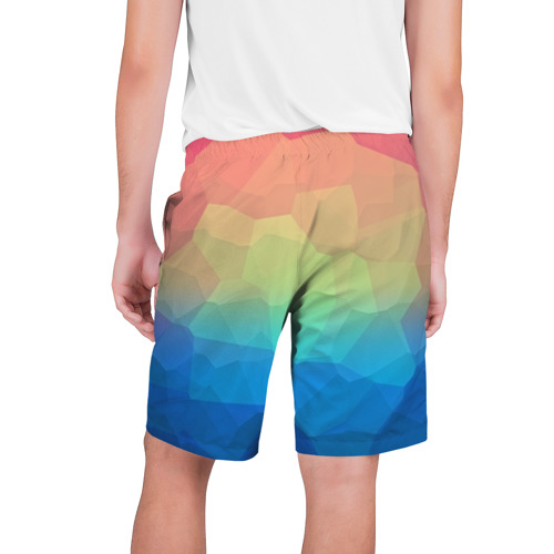 Мужские шорты 3D  Фото 02, polygonal abstract
