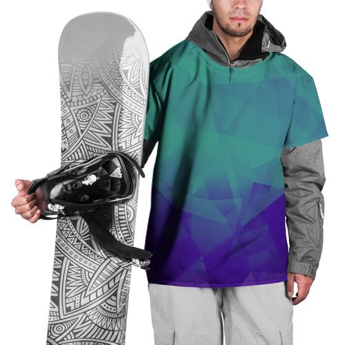 Накидка на куртку 3D  Фото 01, Грани текстуры