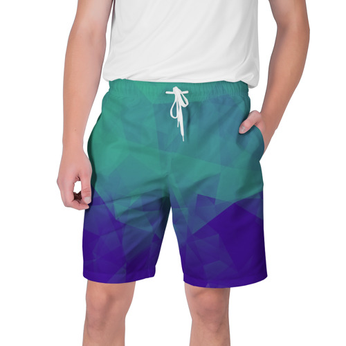 Мужские шорты 3D  Фото 01, Грани текстуры