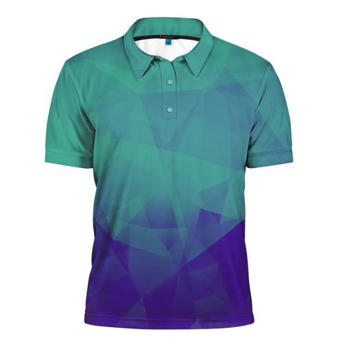 Мужская рубашка поло 3D  Фото 01, Грани текстуры