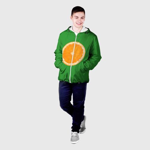 Мужская куртка 3D  Фото 03, Низкополигональный апельсин