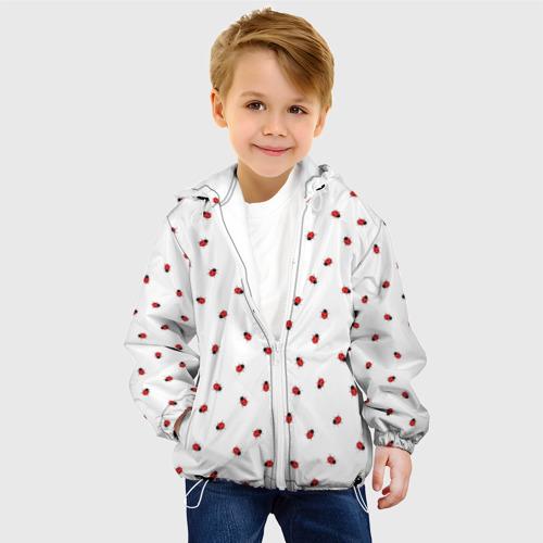 Детская куртка 3D Божьи коровки Фото 01