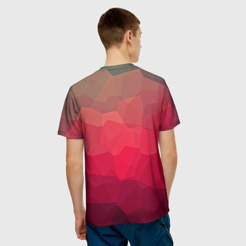 Мужская футболка 3D  Фото 02, edge abstract