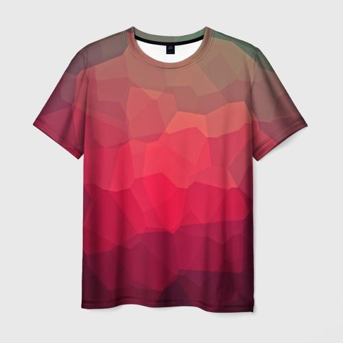 Мужская футболка 3D  Фото 03, edge abstract