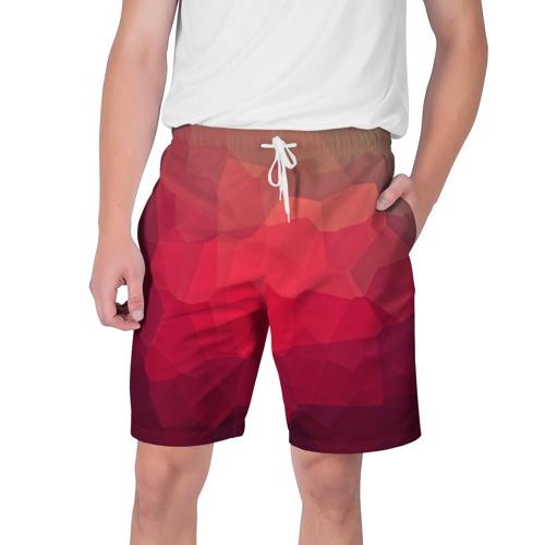 Мужские шорты 3D  Фото 01, edge abstract
