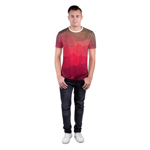 Мужская футболка 3D спортивная  Фото 04, edge abstract