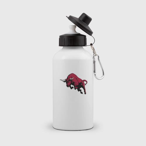 Бутылка спортивная красный бык