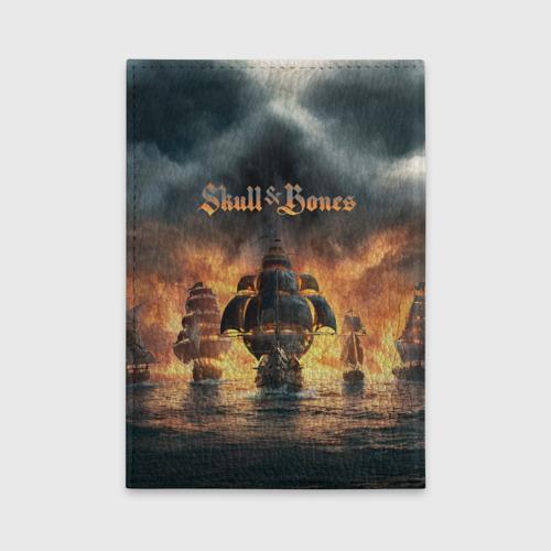 Обложка для автодокументов Skull and Bones Фото 01