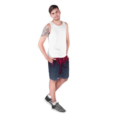 Мужские шорты 3D  Фото 03, Щупальцы Осьминога