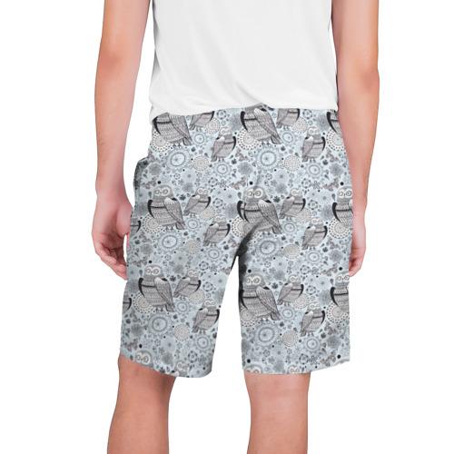 Мужские шорты 3D  Фото 02, Совы