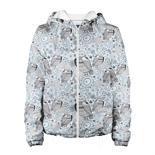 Женская куртка 3D Совы Фото 01