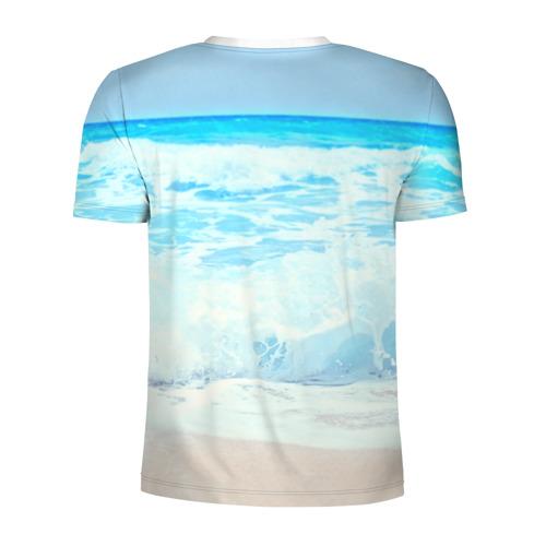 Мужская футболка 3D спортивная  Фото 02, Пляж
