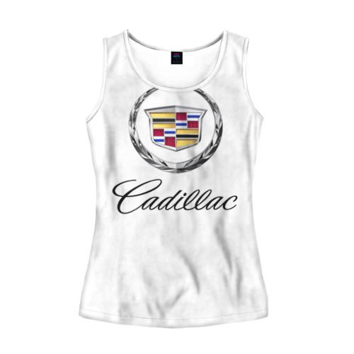 Женская майка 3D Cadillac