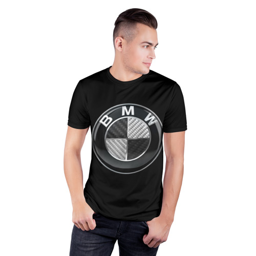 Мужская футболка 3D спортивная  Фото 03, BMW