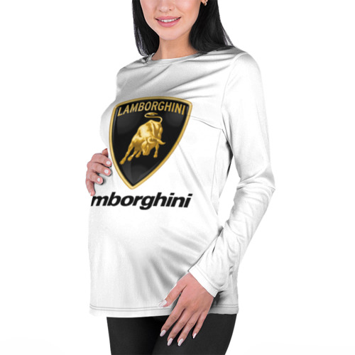 Женский лонгслив 3D для беременных  Фото 01, Lamborghini