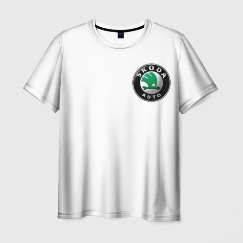 Мужская футболка 3D  Фото 01, Skoda