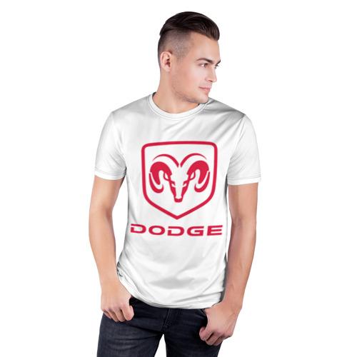 Мужская футболка 3D спортивная  Фото 03, Dodge