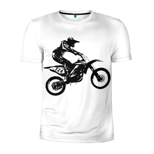 Мужская футболка 3D спортивная  Фото 01, Мотокросс