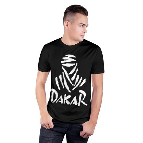 Мужская футболка 3D спортивная  Фото 03, Dakar