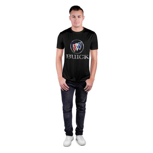 Мужская футболка 3D спортивная Buick Фото 01