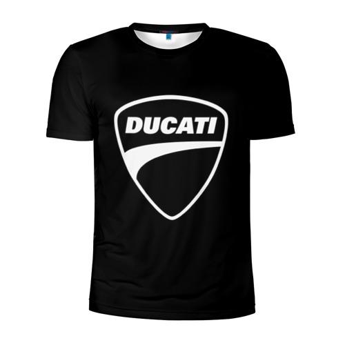 Мужская футболка 3D спортивная  Фото 01, Ducati