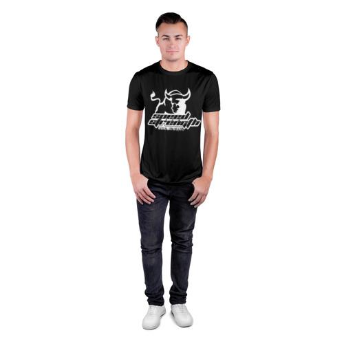 Мужская футболка 3D спортивная  Фото 04, Speed and strength