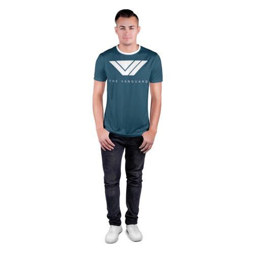 Мужская футболка 3D спортивная  Фото 04, Vanguard