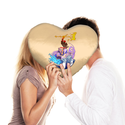 Подушка 3D сердце  Фото 03, Destiny