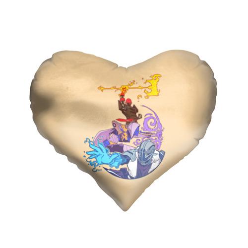 Подушка 3D сердце  Фото 01, Destiny