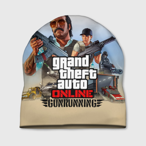 Шапка 3D GTA Online: GUNRUNNING Фото 01
