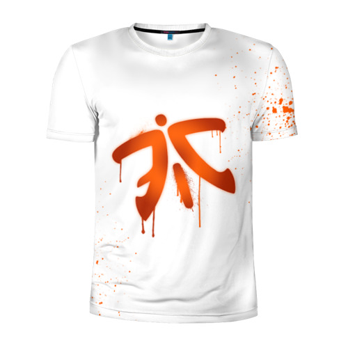 Мужская футболка 3D спортивная  Фото 01, cs:go - Fnatic (White collection)
