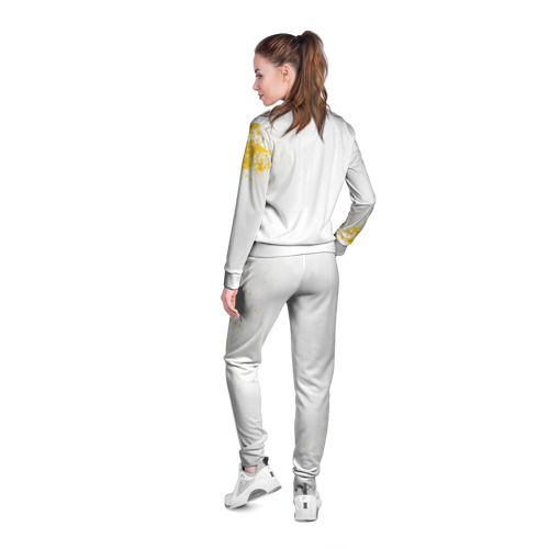 Женская олимпийка 3D  Фото 04, cs:go - Godsent (White collection)